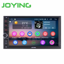 Joying Quad Core 7 Inch 1024*600 2 Din Android 6 Car Audio Stereo Radio With GPS TV 3G WiFi Universal GPS Navigation Head Unit