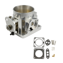 75mm Billet Cnc Throttle Body For 86-93 Ford Mustang Gt Cobra Lx 5.0  Yc100847