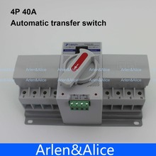 4P 40A 380V MCB type Dual Power Automatic transfer switch ATS(China)