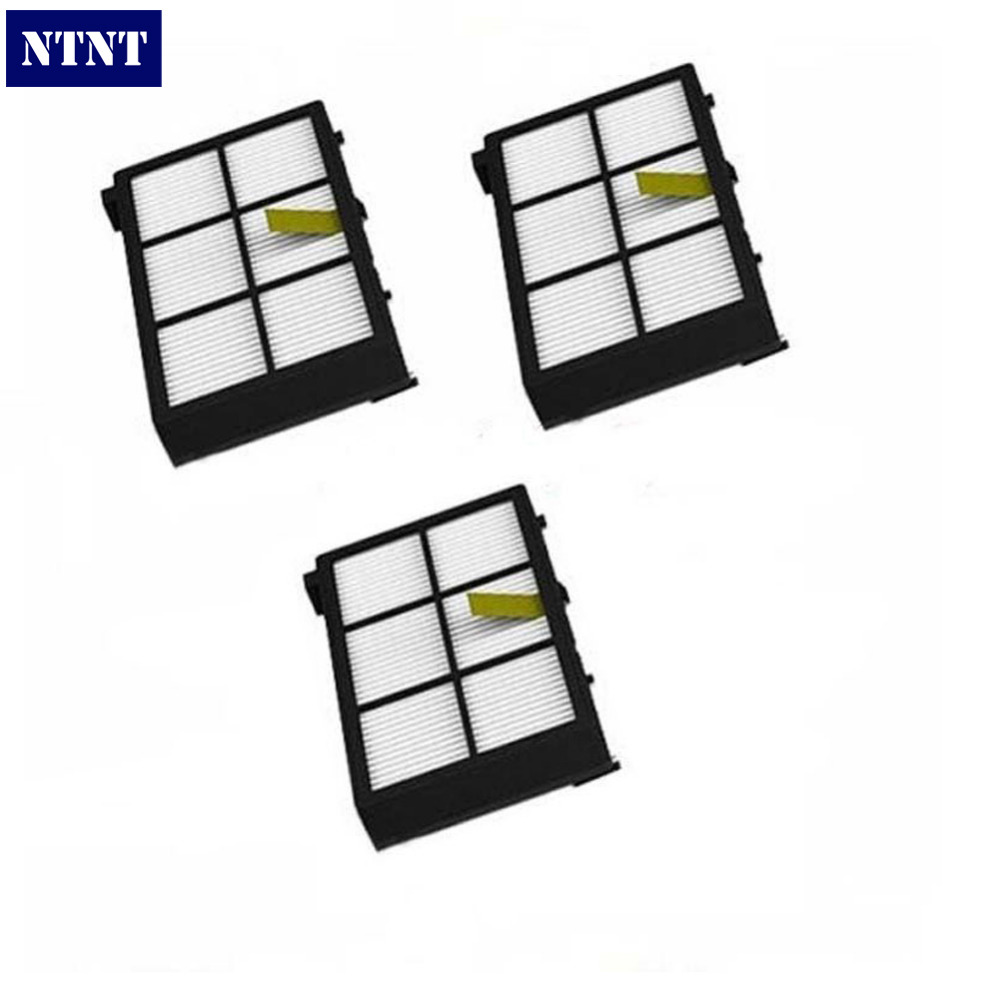 NTNT Free shipping New 3 QTY HEPA Filter filters For irobot Roomba 800 series 870 880<br><br>Aliexpress