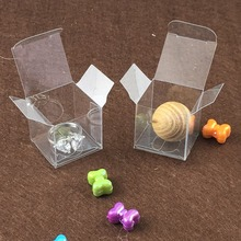 3*3*3cm Clear PVC box Plastic Package Gift Box Candy Boxes,Wedding Box,transparent Jewelry Display Small Packing Boxes1lot=50pcs