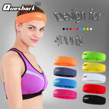 1 Pcs Men Women Cotton Towel Sweatband Yoga Fitness Hair Bands Running Bodybuilding Tennis Basketball Sports Head Bands