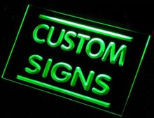 sj Sign Design Your Own LED Light Sign Custom Neon LED Signs Bar open Dropshipping(China)
