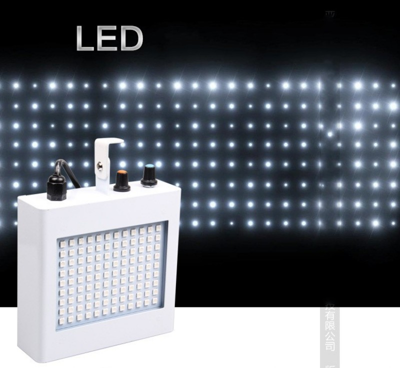7 Colors 54w 108 x Led Stage Lamp Strobe light KTV Laser Light Sound Control Music Control Flicker Stage light<br><br>Aliexpress