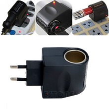 New Stylish Best Price 220V AC to 12V DC Car Cigarette Lighter Wall Power Socket Plug Adapter Converter Super Qaultiy