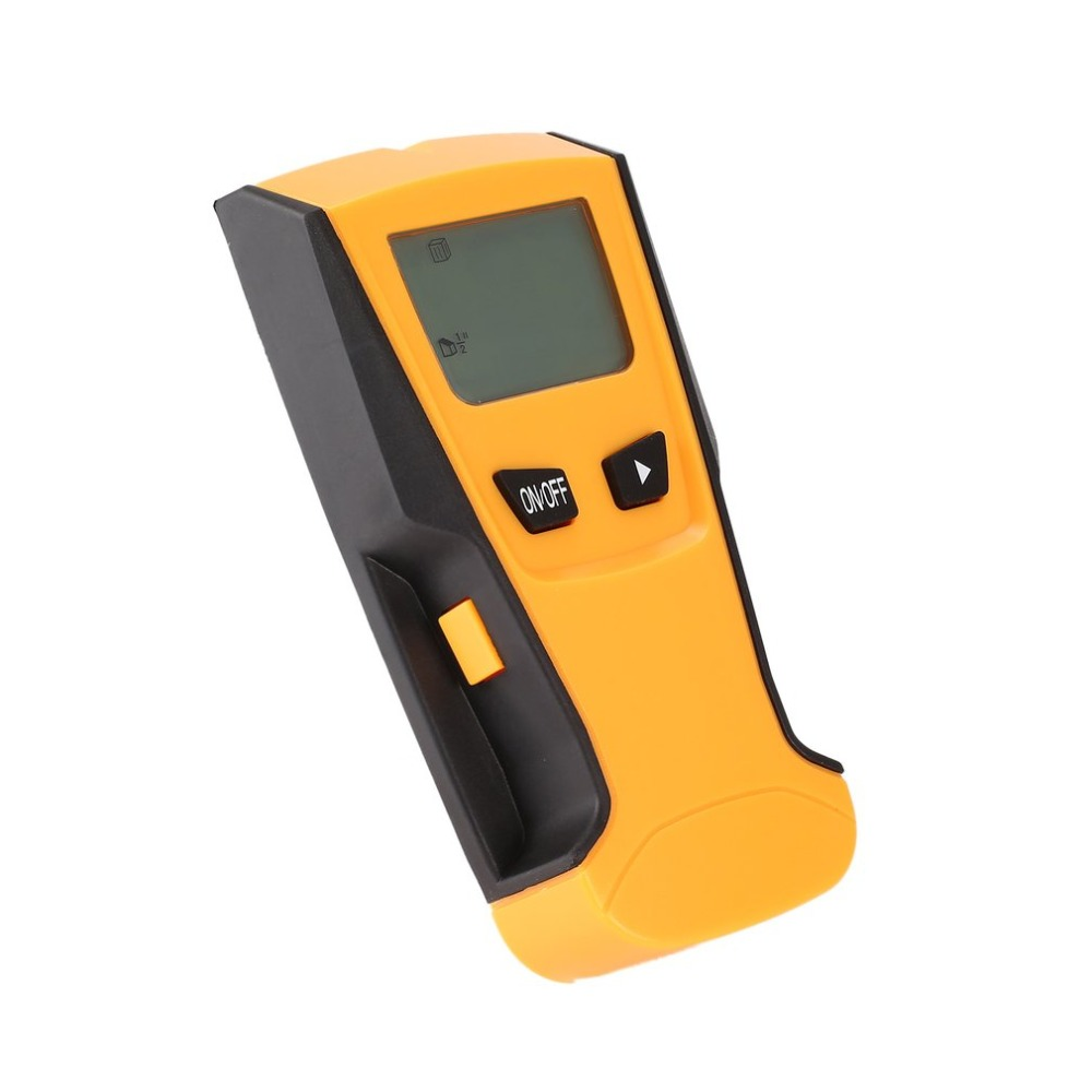 2018 TH210 Digital Handheld Lcd Display Wall Stud Center Scanner Wood Metal AC Live Wire Cable Warning Detector Finder
