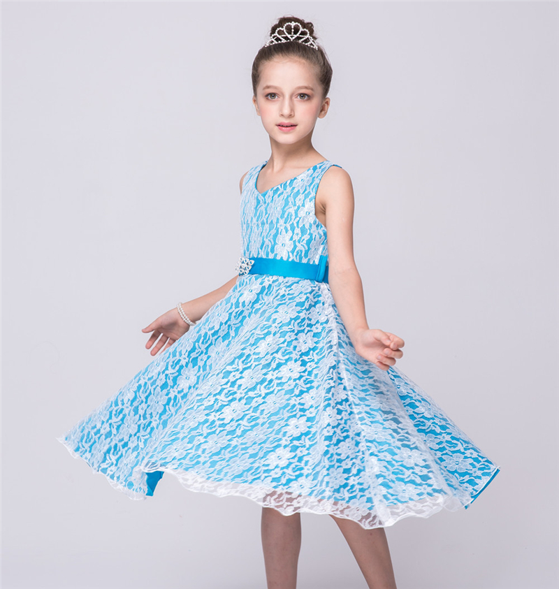 Light blue dresses for girls
