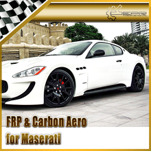 Car Styling For Maserati Gran Turismo CEC Style Carbon Fiber Side Skirt(China)
