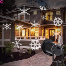 Magical Outdoor and Indoor Christmas Laser Light, Gives Off Brilliant Lights with Snowflake Rotate and Move Electricity EVENT