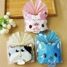 Cute Baby Shower Food Biscuit Cookie Wedding Favors Gift Event Party Supplies Packaging Bread Package Bakery Plastic Bag
