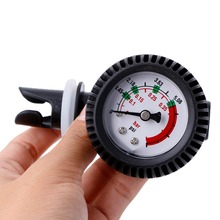 PVC pressure gauge air thermometer for inflatable boat kayak test air pressure valve connector SUP stand up paddle board surfing(China)