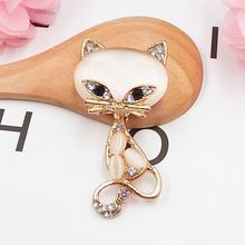 DOWER ME Brand 5pcs Lovely Cat with Cat's Eye DIY Decoration 3D Mobile Phone Decorations Alloy Stickers for Phone Autocolantes(China)