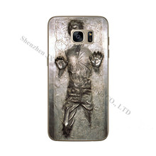Star Wars Han Solo Frozen in Carbonite TPU Soft Case For Samsung Galaxy S5 S6 S7 Edge A3 A5 J5 J7 A310 A510 J510 J710 2016 Cover(China)