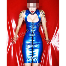 Free shipping !! Sexy new element latex dress(China)