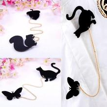 Hotsale New Fashionable Creative Brooch Fruit Squirrel Birds Butterflies Cat Brooches Pins For Women(China)