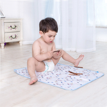70*50CM 4 Layers Baby Travel Home Waterproof Urine Matelas Infant Cover Bedding Cotton Nappy Burp Bamboo Fiber Changing Pad