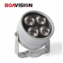 CCTV 4 Array IR led illuminator Light CCTV IR Infrared Outdoor Waterproof Night Vision For CCTV Surveillance Camera IP Camera(China)