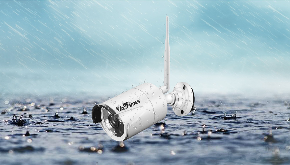 wireless security camera system waterproof