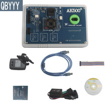 QBYYY 1pc MB AK500 key programmer update AK500 plus Key maker AK500+ Key Programmer for mercedes ESL key programming