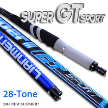 Telescopic Carbon fiber fishing rod 28 tonal Superhard Carbon 3.6M- 7.2M hand stream taiwan hard fish rod pole +1 spare top tips