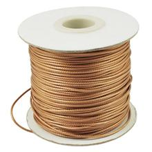 Waxed Polyester Cord for Jewelry Making DIY Craft About 1mm thick about 93yards/roll