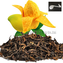 Beautiful Tea strainers+gift Mango Flavor Puerh Tea,Fruit flavor Loose Leaf Pu'er,Slimming Ripe Pu-erh,CTX810