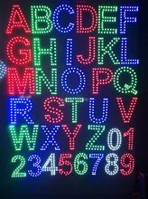 1pcs DC12V 2835 led module led sign Letters ABCDEFGHIJKLMNOPQRSTUVWXYZ led numbers 0123456789 ,Channel letters,advertising board