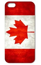 Retro Canada National Flag Cover case for iphone 4 4s 5 5s 5c 6 6s plus samsung galaxy S3 S4 mini S5 S6 Note 2 3 4   z0243