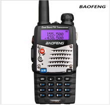Comunicador Upgrade Baofeng Uv-5r Walkie Talkie Radio FM For Two 2 Way Dual Band VHF UHF Ham CB Portable Radio Station Amador