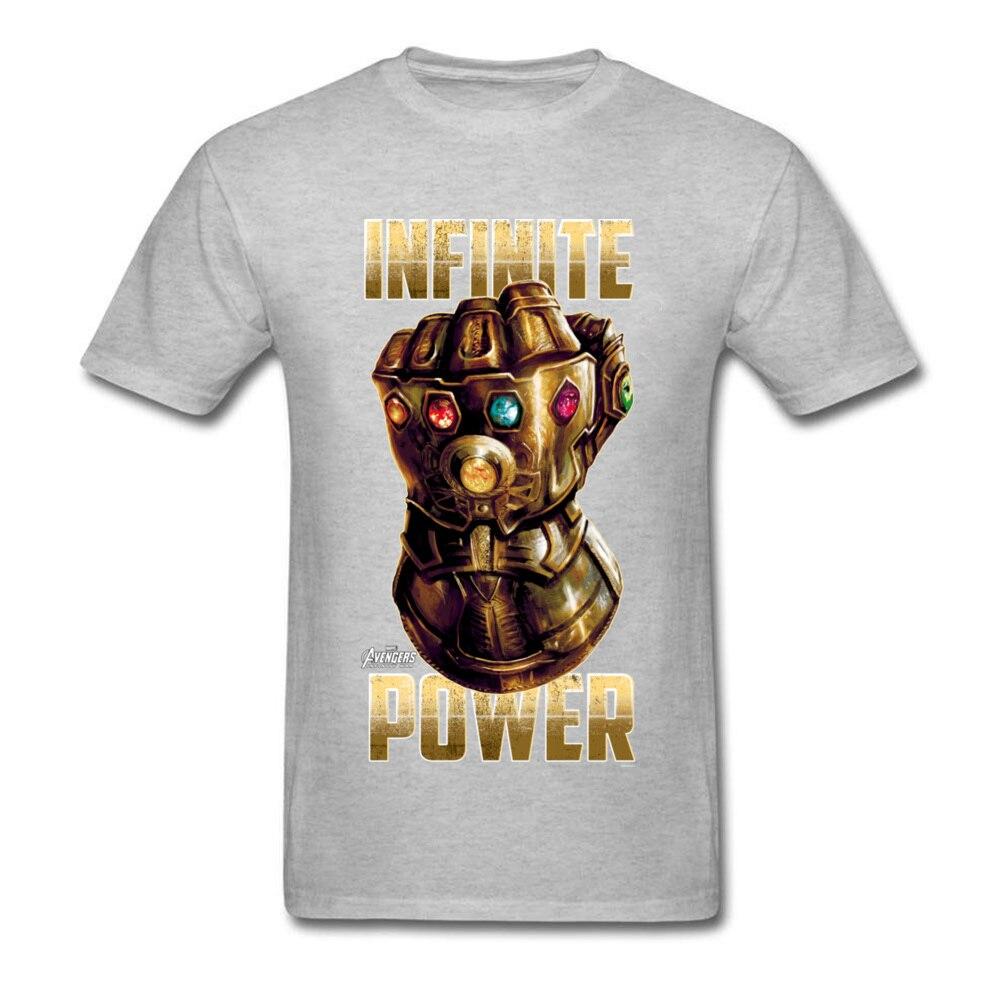Star War Infinite Power Summer/Fall Pure Cotton Round Neck Tees Short Sleeve Funny Tops Tees 2018 Newest Summer T-Shirt Infinite Power grey