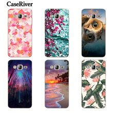 CaseRiver For Samsung Galaxy J3 2016 Case, Soft Silicone Cell Phone Cases Cover For Samsung J3 6 J3 2016 J320 J320F