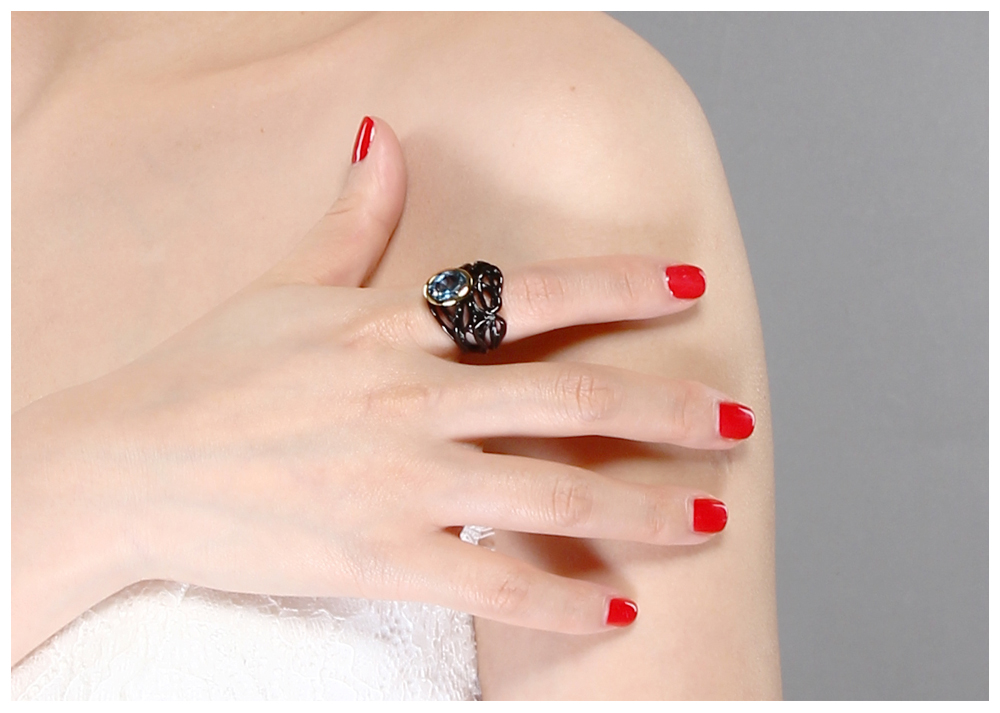 black color rings 03