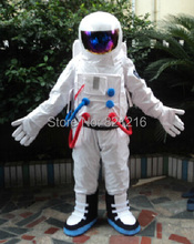 Free shipping Halloween Outfit Costumes suit spaceman cosmonaut mascot costume for adults Despicable Me show