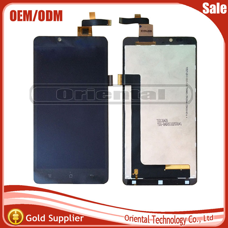For Highscreen Omega Prime XL LCD display+Touch Screen Assembly perfect repair part for Omega Prime XL Free shipping<br>