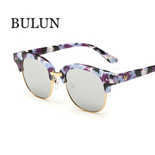 BULUN Cat Eye Polarized Sunglasses Women Brand Designer Vintage Semi-Rimless Sun Glasses Oculos De Sol Feminino - SUNGLASSES store