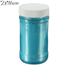 KiWarm 100g Blue Pearl Pigment Powder Sparkle Shimmer Paint for Handicrafts DIY Crafts Hand Painted Graffiti Art Supplies(China)
