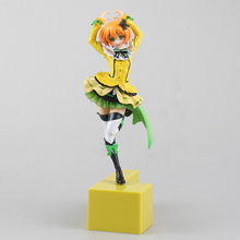 Love Live Hoshizora Rin Action Figure Model Toys Miniature Figurine Decoration Craft For Home Garden Decor Kid Gift LL29(China)