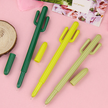 3PCS Cute Creative Cactus Gel Pens Stationery Office School Supplies Tenacious Plant Gel Pen