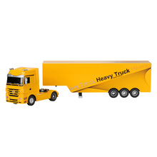 RUICHUANG QY1101 1/32 2.4G Electric Toys Container Heavy Truck RTR RC Car Freight Car Remote Control lorry(China)