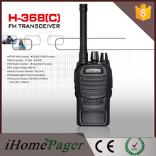 2pcs HT-368(C) Popular used Two Way Radio Cheap 5W Walkie Talkie