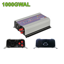 1000W Grid Tie Inverter 3phase AC22-60/45-90V wind turbine with dump load,MPPT Pure Sine Wave Converter 1000G-WAL(China)