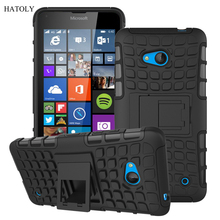For Nokia Lumia 640 Case Heavy Duty Armor Shockproof Hybird Hard Rugged Silicone Rubber Phone Cases Cover For Nokia 640 N640 <*