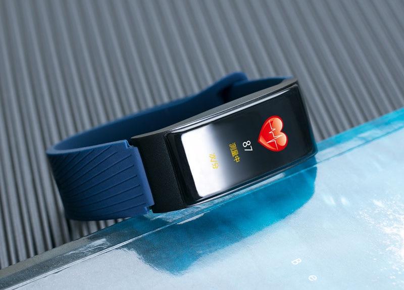 VERYFiTEK F4 Metal Smart Band Wristband Blood Pressure Heart Rate Monitor Men Women Fitness Watch Pedometer Smart Bracelet (36)