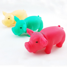 Hot Sell Pig Toy With Real Sound Squeaky Dog toy Funny Pet shrilling pig outlet screaming rubber