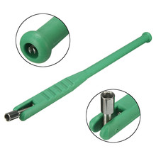 Green Plastic Metal Car Motorcycle Bike Tire Repair Tool Tire Valve Stem Puller