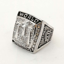 Who Can Beat Our Rings, High Quality 2007 Super Bowl New York Giants Replica Men World Championship Ring(China)