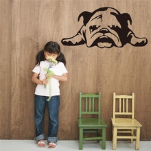 Buy Wallpaper ENGLISH BULLDOG TIRED PUPPY DOG Cartoon Wall Stickers Kids Room Nursery Diy Murals Home Decoration Accessories for $3.06 in AliExpress store