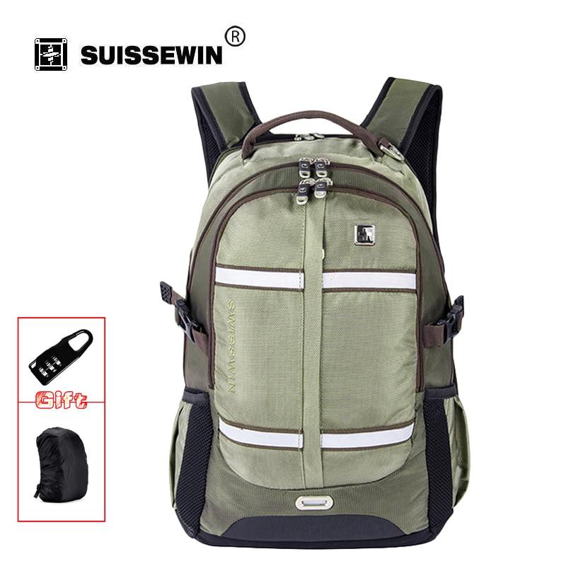 Swisswin fashion 16 17 laptop backpack big capacity men military bag daily travel bag case school mochila Teenage Boy SW8350<br>