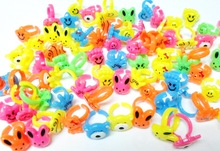 12 pc Mini Girls Kids Rings Assorted Fun Design for Vending Machine Bag Pinata Filler Novelty Birthday Party Favors Giveaways(Hong Kong)