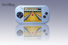 2.5inch TFT screen Portable Game console built in 30 fun Sport games player for kids non-violence Pocket Games console